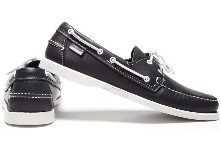 Sebago Docksides Blue Nite Boat Shoe: Boat Shoe