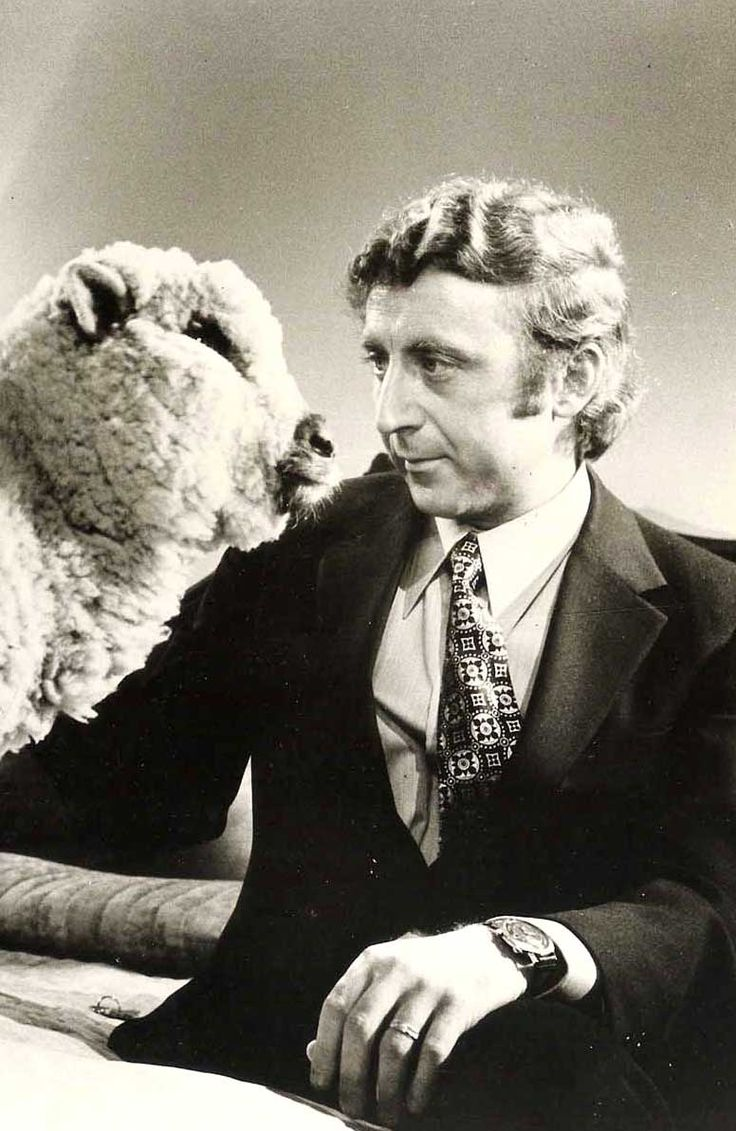 """Gene Wilder and sheep - Woody Allen's """"Everything You Always Wanted To Know About Sex."""" (Q: What is bestiality?)"""