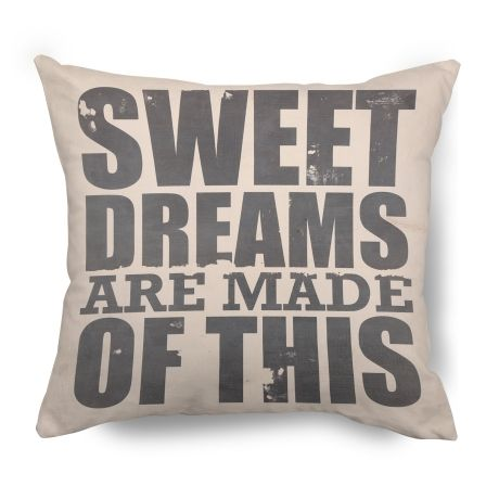 Sweet Dreams Cushion – 45 x 45cm from Typo Lyrical Prints - R249 (Save 0%)
