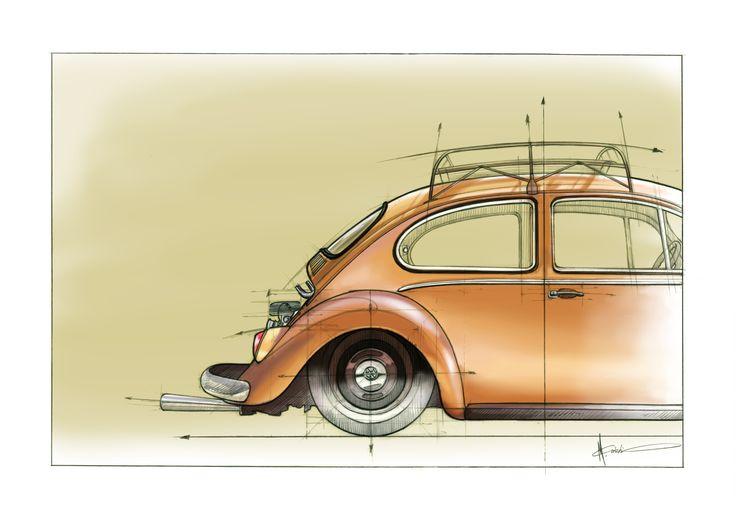 "Check out my @Behance project: ""VW Kafer"" https://www.behance.net/gallery/45267217/VW-Kafer"