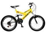 Bicicleta Colli Bike GPS Pro Aro 20 21 Marchas - Dupla Suspensão Freio V-brake