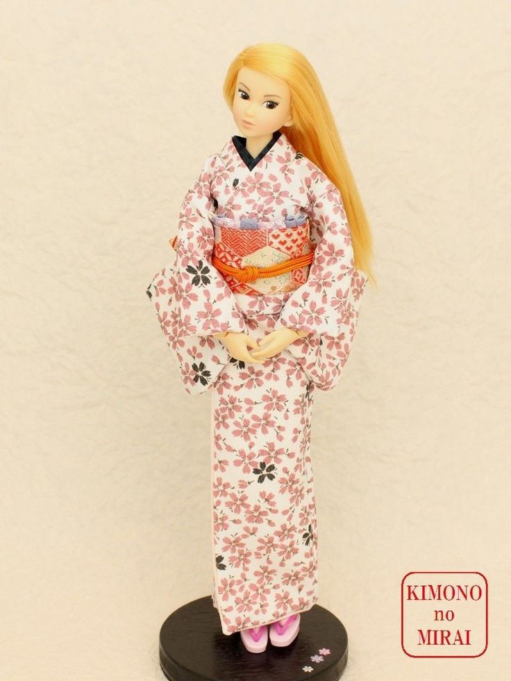 Best Japanese KIMONO dress,SAKURA kimono,for dolls Jenny,Momoko,Pullip outfit   eBay