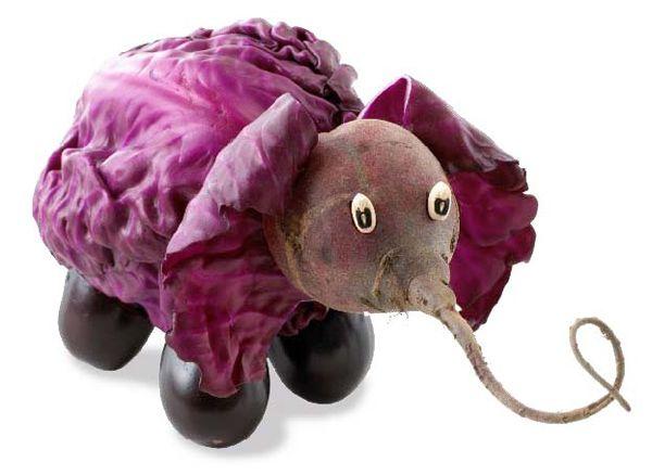 ¿Qué será, será? Un elefante XD #paratorpes #comida #gastro #gastronomia #arte #inspiracion