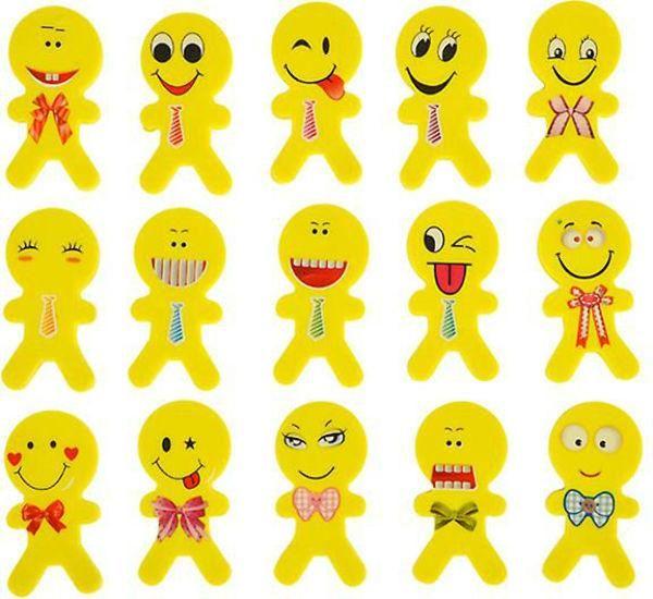 Emoji Erasers - 1152 Units