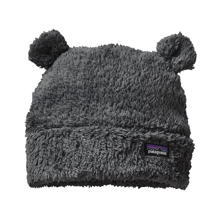 BABY FURRY FRIENDS HAT, Forge Grey (FGE)