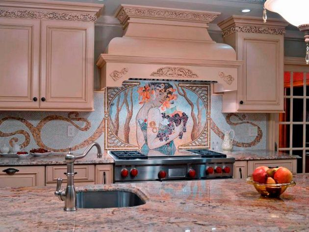 Etonnant 15 Outstanding Kitchen Mosaic Backsplash Ideas That Are Worth Seeing