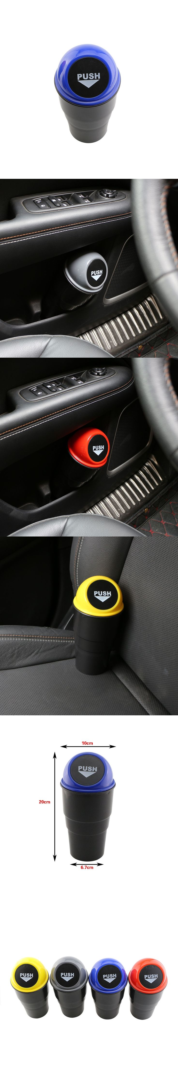 New Hot 1 Set Car Trash Can Garbage Dust for For Audi Q2 Q3 Q5 SQ5 Q7 A1 A2 A3 A4 A4L A5 A6 A6L A7 S5 A8 Any Car Accessories
