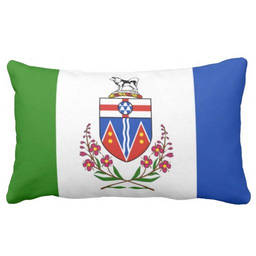 Provincial Flag Of #Yukon Pillow