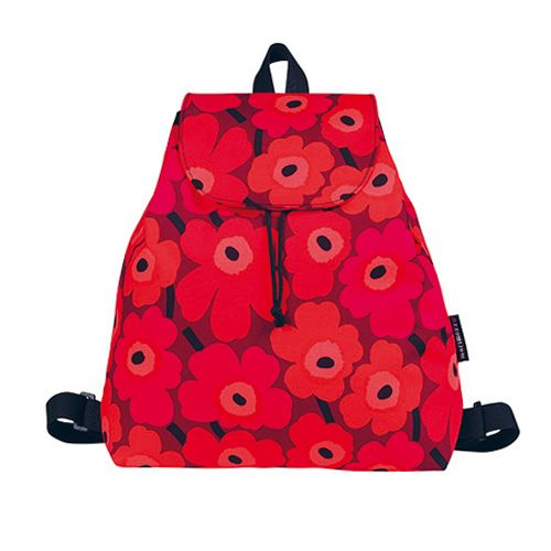 Marimekko backpack Perenna in Unikko pattern www.emma-b.nl