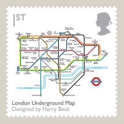Classic British Design Makers stamps.