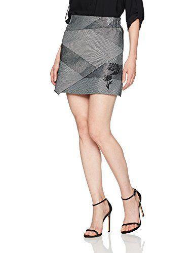 baaaa6dd346 Desigual Women s Mireia Woman Woven Short Skirt - https   ift.tt