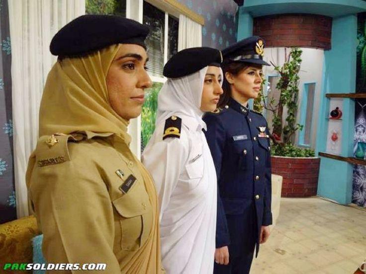 Mulheres do exército paquistanês