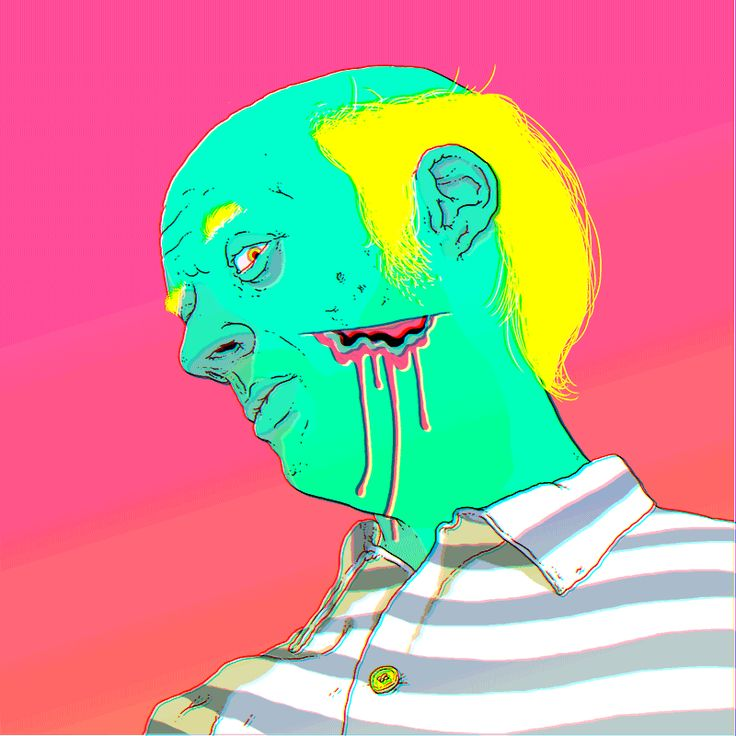 Resultado de imagen de grifos animados psicodelicos