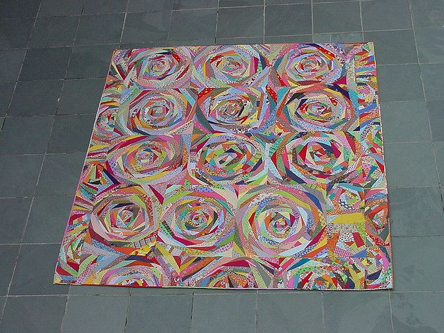turning circles...great scrap buster!...that looks like a fun quilt to make too