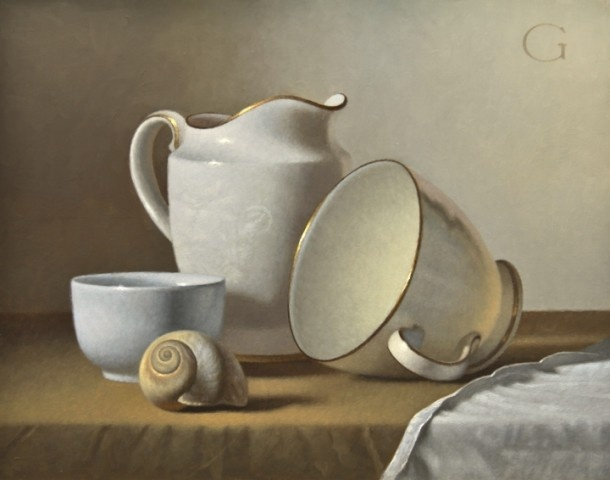 David Gray Classical Realism Oil Paintings - still-life-archive