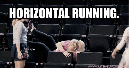 Horizontal Running.