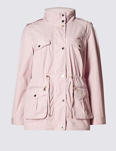 Panelled Mac with Stormwear™ | M&S