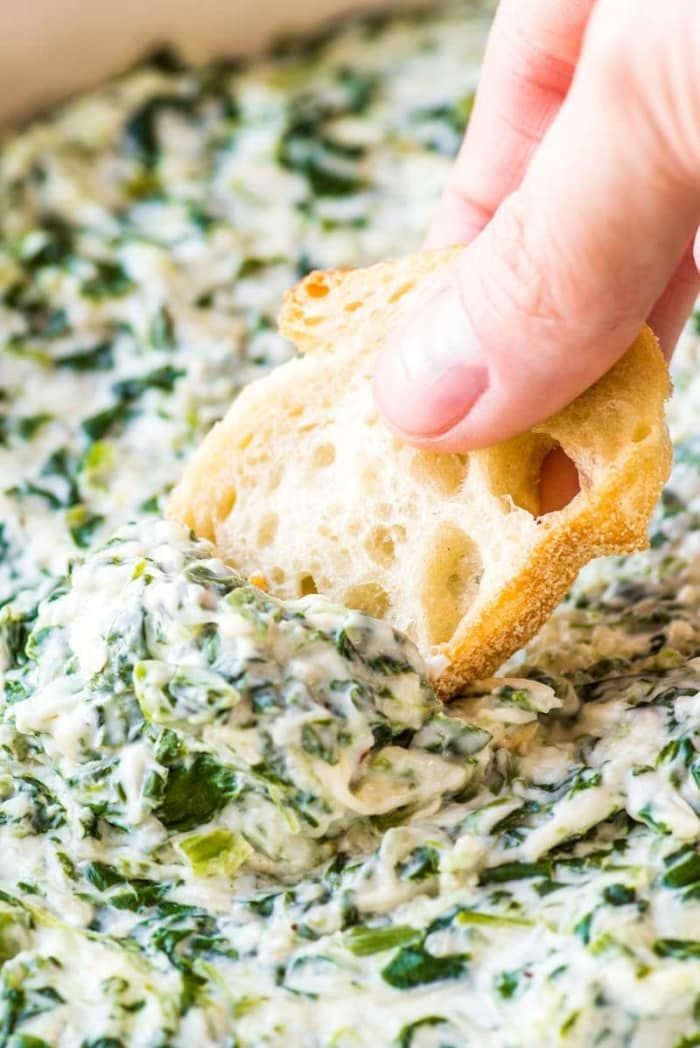24 Affordable Recipes To Make For Your Next Summer Party Creamy Spinach Creamy Spinach Dip Spinach Dip