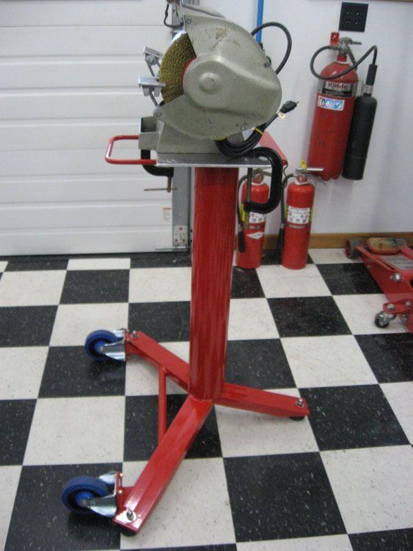 bench grinder stand. best bench grinder stand? - the garage journal board stand t