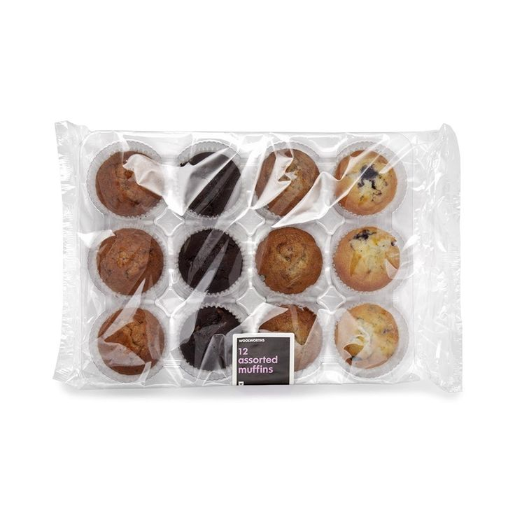 Assorted Muffins 12Pk