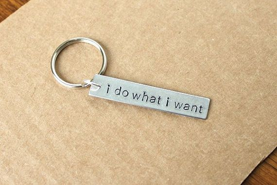 Loki I Do What I Want -- Tom Hiddleston -- Thor -- The Avengers -- Premium Aluminum Keychain