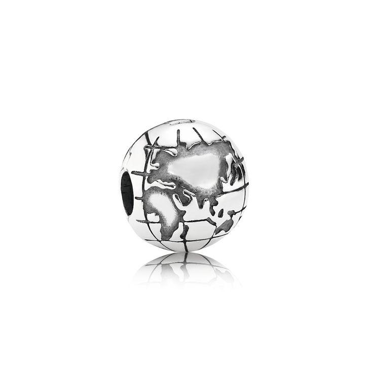 Globe Clip   PANDORA eSTORE