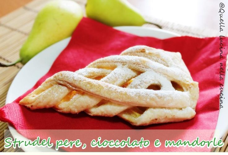 """Lucia Antenori su Twitter: """"Strudel pere, cioccolato e mandorle http://t.co/yGTrFhR5B0 #ricettebloggerriunite http://t.co/Ip3hOx4G3y"""""""