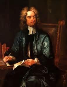 Jonathan Swift. Or is he the original Blackadder?
