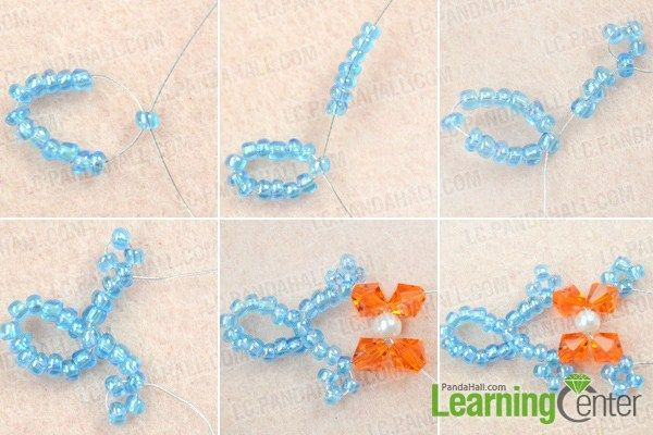 Instruction on how to make beautiful necklace at home
