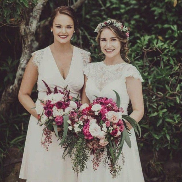 Lovely Bride Lucy with Bridesmaid Chelsea | Beautiful Florals by  @francisfloristry | Lucy's Dress by @ruedeseinebridal via @thebabushkaballerina | Photo by  @joshuamikhaiel | Hair & Makeup #veronikamoreirabridal | #brides #sydneymakeupartist #sydneymakeup #sydneyhairandmakeup #sydneyweddings #inspiremeweddings #Bridalmakeup #bridalhairandmakeup #bridalbeauty #bridalmakeupartist #beautifulbrides #brides_style #florals #bridalinspo #weddinginspo
