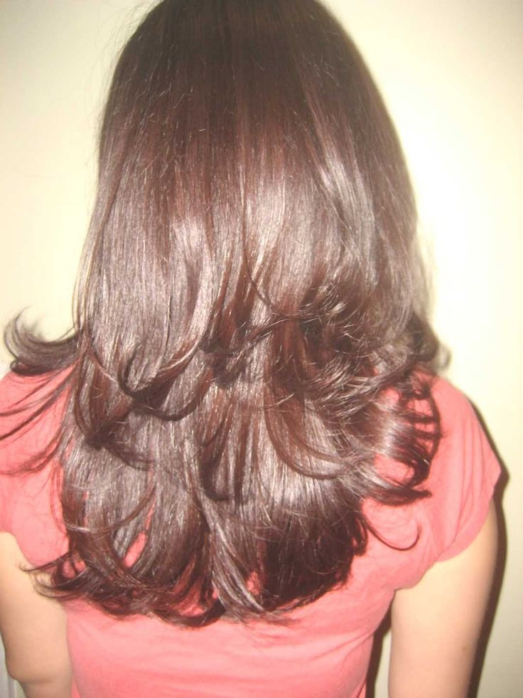 step cut hairstyle for straight hair back view - http://www.gohairstyles.net/step-cut-hairstyle-for-straight-hair-back-view-12/
