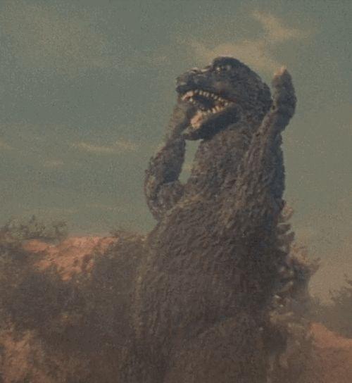 "gameraboy: "" Godzilla vs. Gigan (1972) """