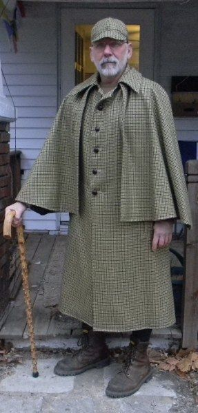 Inverness Cape Coat | Thread: Working toward an Inverness Cape - kinda long
