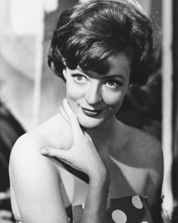 Dame Maggie Smith. She is a fantastic actress and breathtaking and upright and graceful.