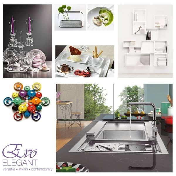 Feel inspired by RODI's EVO range and give more life to your home! Here are some suggestions! :)