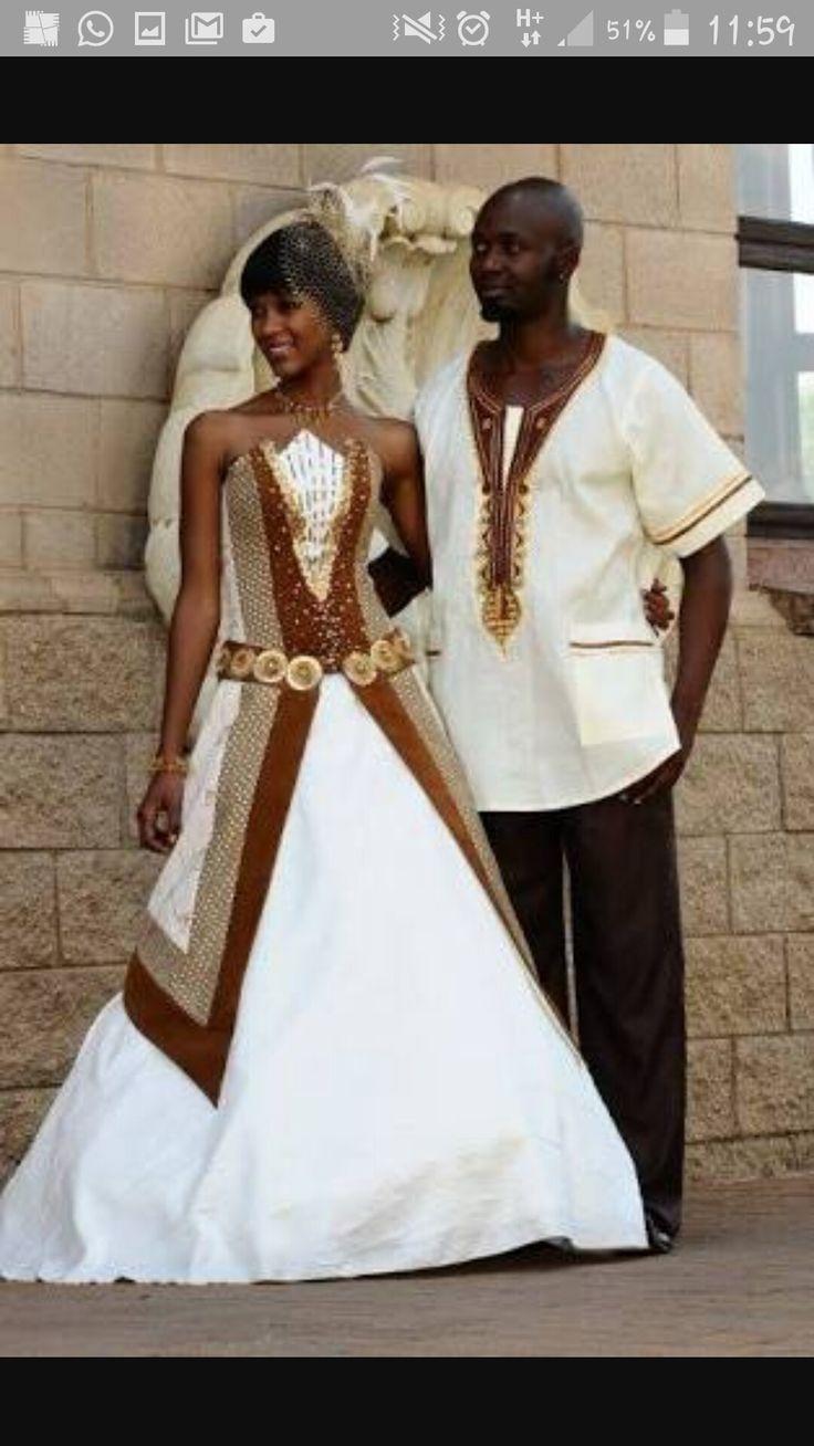 Tswana bride