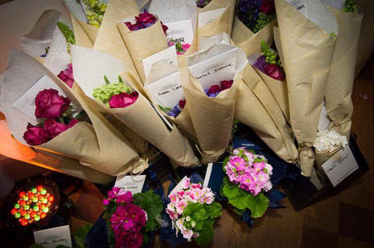 Flowers by Hayford Rhodes at Victorian townhouse Kent House Knightsbridge showcase event
