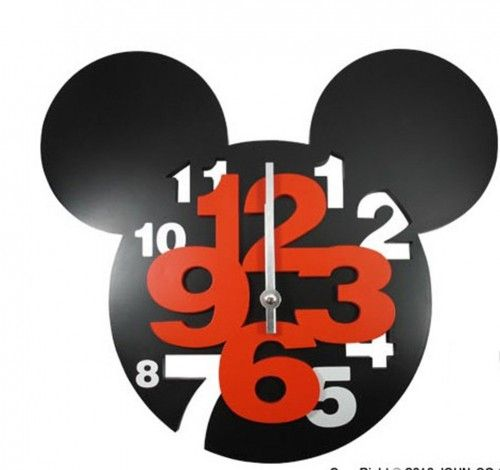 17 Best Ideas About Mickey Mouse Clock On Pinterest