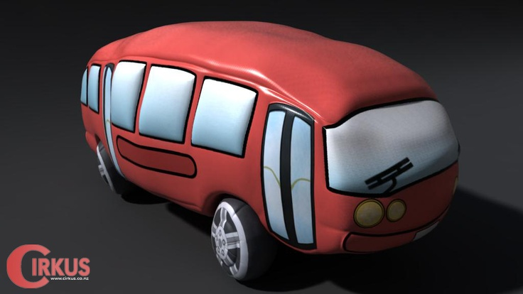A blog post on the Happy Family ad Cirkus did for Tencent Games with some renders of 'blow-up cars'!