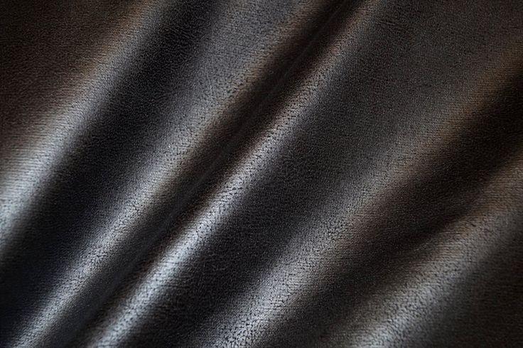 NB 15/16 7350-069 Tricot lederlook zwart