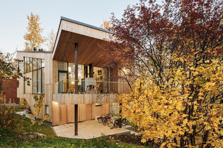 Дачный домик, загородный дом, деревянный дом