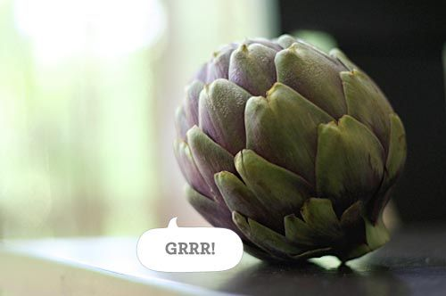 How to prepare and eat an artichoke!