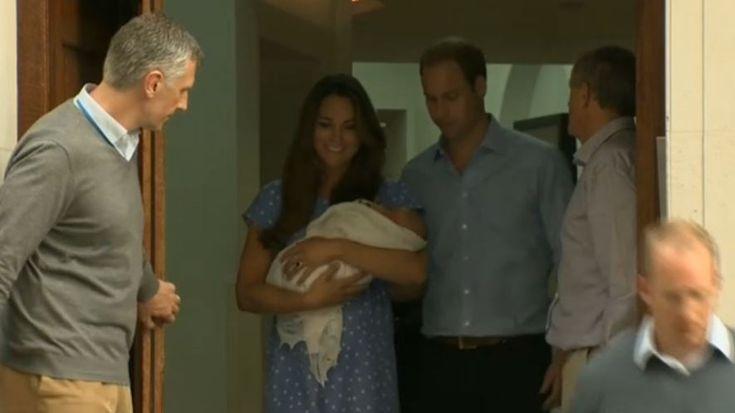 #Kate und #William zeigen das royale #Baby der Öffentlichkeit #RoyalBaby › Stars on TV