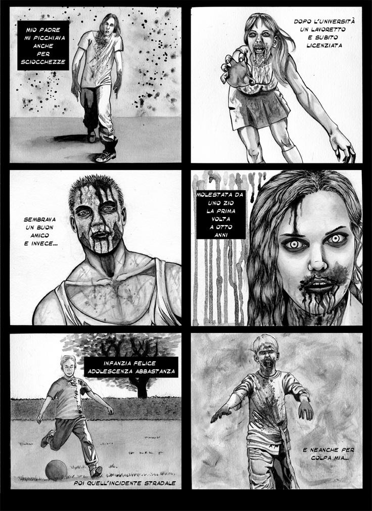 Zombie Walk  Story: Sergio Della Giustina  Draws: Alice Ravenna