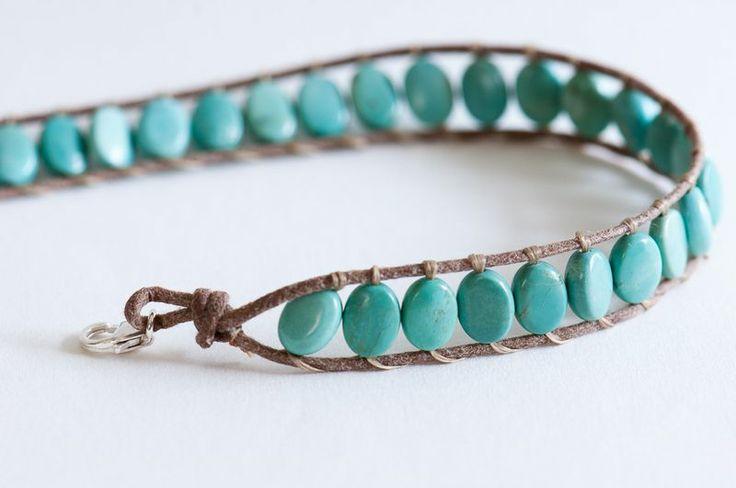 DIY wrap bracelet. LOVE