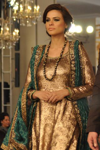 #pantenebridalcoutureweek2013 #bridalcouture Complete Collection - Photo 10: Nida Azwer Latest 2013 Collection,