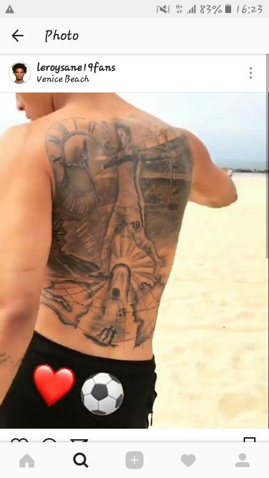 Leroy's tattoo