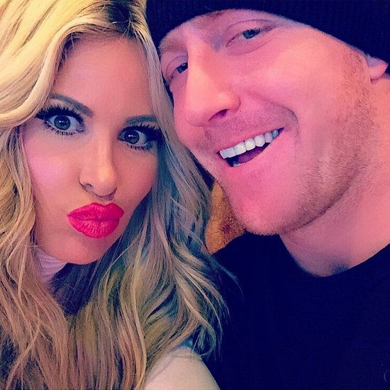 Kroy Biermann re-signs NFL contract with Atlanta Falcons; Kim Zolciak gushes on twitter and instagram.