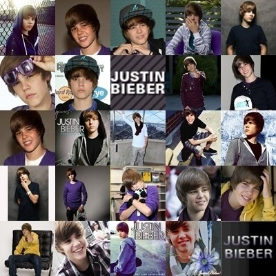 Justin Bieber!!! For the beliebers ( like my best friend)