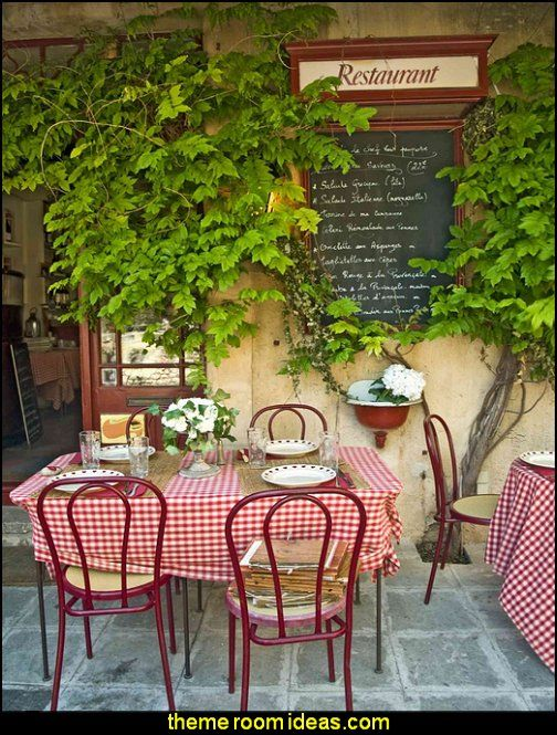 Bistro in Provence, France wallpaper mural                                                                                                                                                     More